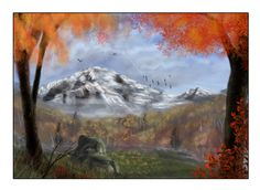 Autumn concept art