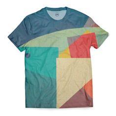 Geometric Fish T-Shirt by Fernando Vieira (FernandoVieira) from $35.00 | miPic