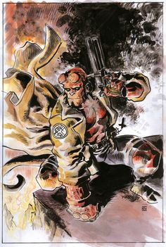 Hellboy by deankotz
