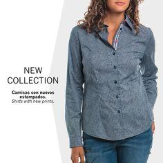 Camisa estampado corbatero • Tie print shirthttp://bit.ly/camisaCorbatero
