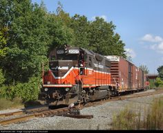 RailPictures.Net Photo: PW 2007 Providence and Worcester Railroad EMD GP38-2 at East Providence, Rhode Island by Ron Chouinard