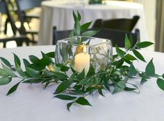 Pictures of Candle Centerpiece Ideas [Slideshow]