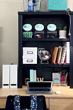 Nice 60 Tips and Tricks Dorm Room Organization Storage Ideas on A Budget https://decorapatio.com/2017/07/16/60-tips-tricks-dorm-room-organization-storage-ideas-budget/