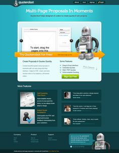 Use our web design proposal template app to create great quotes and multi-page proposals in moments. Web Design Proposal, Proposal Quotes, Create Quotes, Proposal Templates, Robot, In This Moment, Robots