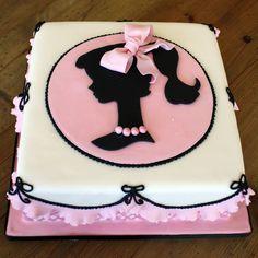 Tartas de cumpleaños - Birthday Cake - Vintage Barbie Cake