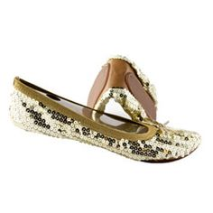 These flats may look froufrou, but they're actually very down-to-earth. They fold up into a little pouch small enough to fit into your purse, so you can pull them on during achy-feet emergencies.