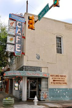 Mayflower Cafe in Downtown Jackson..since 1935...one of our favorite lunch places