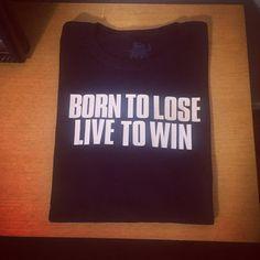 Born to Lose Live to Win Custom Gildan SoftStyle Adult T-Shirt Motorhead Lemmy