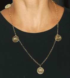 Mother's Necklace. My favorite piece of jewelry! Hubby gave it to me 3 Christmases ago. Love it :)