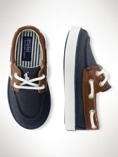 Sander Boat Shoe - Toddler Toddler 4-10 - RalphLauren.com #toddlerboyfashion