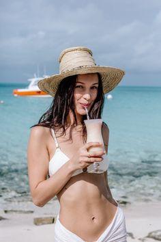 "bel-hadid: """" Bella Hadid behind the scenes of shooting the Fyre Festival promo video in the Bahamas "" """