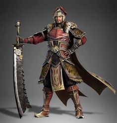 More Dynasty Warriors 9 characters revealed Diao chan, Cao Cao, Sun Jian, Liu Bei Fantasy Character Design, Character Concept, Character Art, Concept Art, Character Ideas, Character Inspiration, Fantasy Armor, Fantasy Weapons, Medieval Fantasy