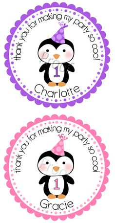 Thank you for making my party so cool. Charlotte's name was already on this! It's meant to be!
