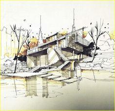Architecture pens 00175