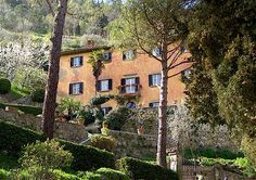 """The real """"Casa Bramsole"""" - rather different and much more attractive than the one in the film  which was located on the Amalfi coast south of Naples. Cortona, Tuscany, Italy"""