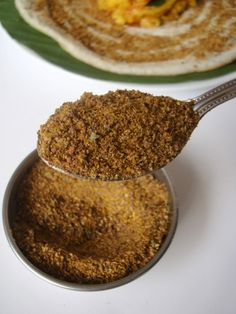 Flax Seeds Curry Leaves Karam Podi - Spiced Flax Seeds Powder Recipe seed benefits seed crackers seed gel seed recipes seed recipes how to use Podi Recipe, Masala Recipe, Flax Seed Benefits, Fried Fish Recipes, Flax Seed Recipes, Chutney Recipes, Curry Leaves, Cooker Recipes, Indian Food Recipes
