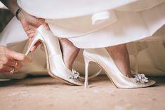 Real bride wearing Clean Heels to protect her lovely wedding shoes! Outdoor Wedding Reception, Farm Wedding, Wedding Day, Wedding Favours, Wedding Programs, Heel Stoppers, Vintage Crockery, Outdoor Wedding Inspiration, Wedding Breakfast