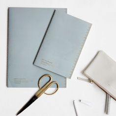 Notebook Soft Blue – Monograph