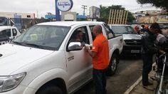 Trânsito de Vitória da Conquista recebe ações educativas da Caravana do Detran +http://brml.co/1yuTUfB
