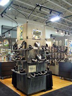 Customer Booth Gallery Dark Grey Panels Light Grey Panels Moonbeam Panels Black Panels Oatmeal Panels Buff Panels Dallas Safari Club 2014
