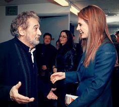 StanaKatic & Placido Domingo - LA Opera 'Simon Boccanegra' Party (2012)
