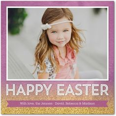 Glittering Joy - #Easter Cards - Magnolia Press in Plumberry Purple