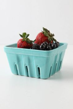 Anthropologie Farmer's Market Basket - great for table decor and nice gift for mommy to keep for herself!