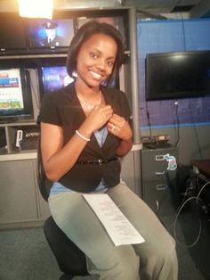 9&10's Breelynn Martin is in the Newsroom preparing for a Live shot.
