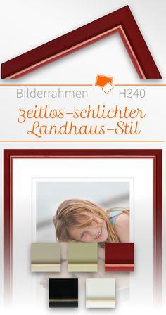 Zeitlos Schlichte Bilderrahmen U2013 Ideal Für Einrichtungen Im Landhaus Stil  Oder Skandinavischen Stil In Dezenten