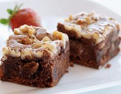 Flat Belly Diet Recipes - Irresistible brownies