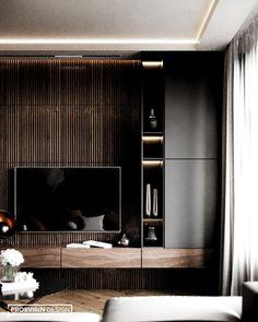 New ideas living room tv wall ideas tv decor shelves Tv Cabinet Design, Tv Wall Design, Tv Console Design, Living Room Modern, Home Living Room, Modern Tv Wall, Contemporary Living Room Designs, Small Living, Modern Design