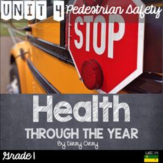 """This resource includes all outcomes and indicators for Grade 1 - Unit 4 """"Pedestrian and Street Safety"""" in the Saskatchewan Health curriculum. It includes 10 interactive and ready to use lessons that are compatible with any Grade 1 Health program. This unit is based on USC1.4 Determine and practice safe pedestrian /"""