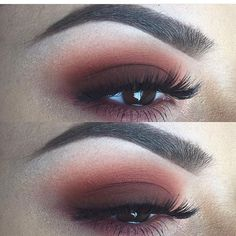 Instagram media by artistry_mua - Beautiful @mack_lc  ▪️Eyes: #makeupgeek •Chickadee & •Bitten. #Mac •Brown script & •Red Brick shadows ▪️Lashes: @eyemimosanfrancisco glm 13 ▪️Brows: #anastasiabeverlyhills Dipbrow •Chocolate