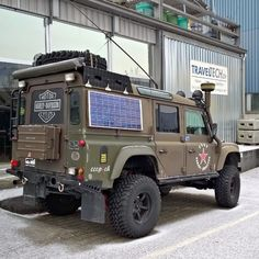 Land Rover Defender 110 Td5 Sw County expedition adventure prepared 4x4 Off road.