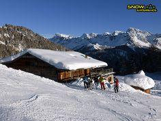 Rifugio Buffaure - Onderdeel van de skihuttentocht door de Dolomieten.