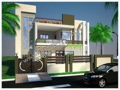 3d home elevation designmodern elevation design of residential buildings   house map  . Home Elevation Designs. Home Design Ideas