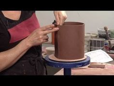 ▶ Pottery Video: Tips for Strong Joints on Slab Built Pottery | LISA NAPLES - YouTube