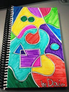 Inspiración de sala de espera. 06/06/2012. Cosas que hago en papel para relajarme.