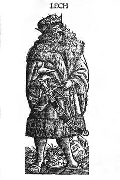 Lech in: Maciej z Miechowa,  Chronica Polonorum Craccovi[a]e : Vietor, 1521