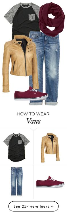 """""""Autumn Casual Saturday"""" by alowrance on Polyvore featuring Hollister Co., Madewell, Athleta, Black Rivet, Vans and plus size clothing"""