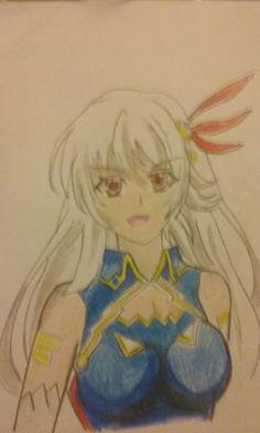 Elenora Lord Marksman And Vanadis Fan Art