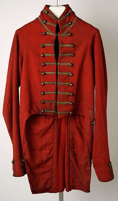 1812-1820 American Tailcoat at the Metropolitan Museum of Art, New York