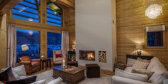 Discover the #Morzine #ski resort in the modern Chalet Savogia! You will enjoy its outdoor jacuzzi and its Spa and massage room while your children will love the cinema and games room before an enjoyable #family meal.  #Book the chalet Savogia: http://clni.st/1uu8Gub  #holidays #luxurytravel #mountain