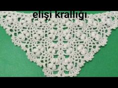Crochet Shawl, The Creator, Youtube, Bandanas, Craft, Videos, Cape Clothing, Crochet Stitches, Needlepoint