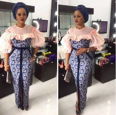 Top Classic Aso Ebi styles 2018 from Diyanu - Ankara Dresses, Shirts & African Fashion Designers, African Fashion Ankara, Latest African Fashion Dresses, African Print Fashion, Aso Ebi Lace Styles, Ankara Long Gown Styles, Lace Gown Styles, Cord Lace Styles, Nigerian Lace Styles