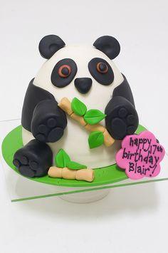 Panda Cake by studiocake, via Flickr