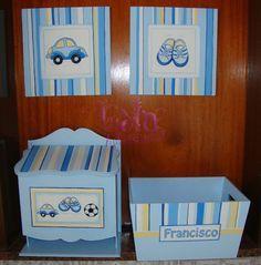 cajas decordasen decoupage para bebes varones - Buscar con Google