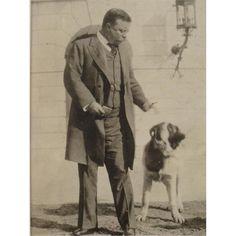 Teddy Roosevelt & His Dog