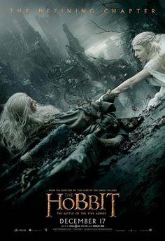 The Hobbit: The Battle of the Five Armies (2014). Director: Peter Jackson. Cast: Ian McKellen, Martin Freeman, Richard Armitage, Cate Blanchett, Hugo Weaving, Christopher Lee, Ian Holm, Luke Evans, Stephen Fry, Benedict Cumberbach