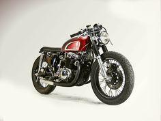Inazuma café racer: What if... 1976 CB750 by Motohangar